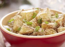 Salade de pommes de terre rôties