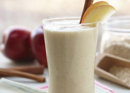 Smoothie Pommes Cannelle Croquant