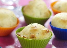 Mini muffins aux herbes