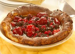 Baked Berry Puff