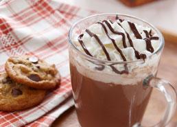 Chocolat chaud riche et crémeux
