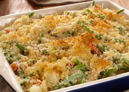 Casserole de légumes crémeuse