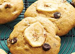 Bouchées de pain aux bananes au chocolat