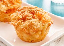 Muffins au macaroni au fromage