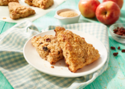 Apple Raisin Cinnamon Scones