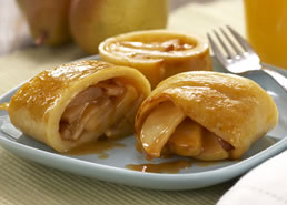 Caramelized Pear Pancakes