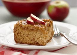 Caramel Apple Sticky Cake