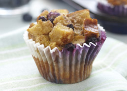 French Toast Berry Muffins