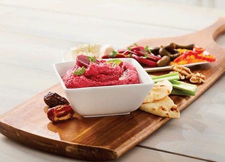 Beet and Tahini Dip – Vegan