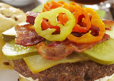 Smoke and Fire Burger