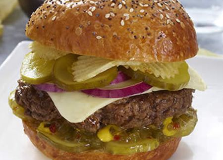Sweet and Salty Crunch Burger