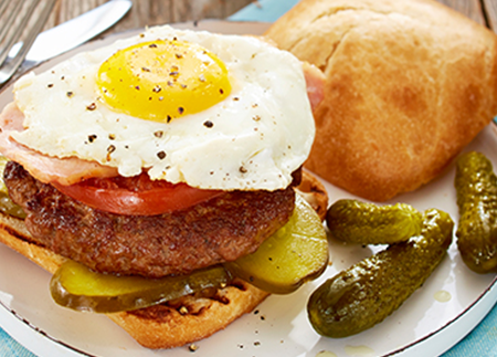 Muskoka Breakfast Burger
