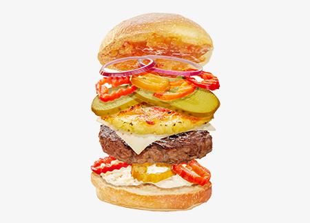 The 4 Alarm Burger