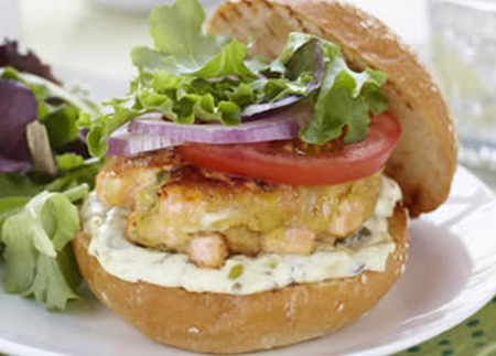 Recipe Image of Bay of Fundy Burger