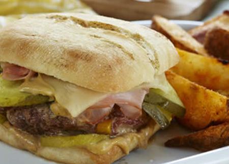 Recipe Image of Cubano Burgers