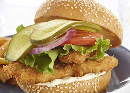 Bick S Crispy Chicken Schnitzel Sandwiches With Kicked Up Dressing