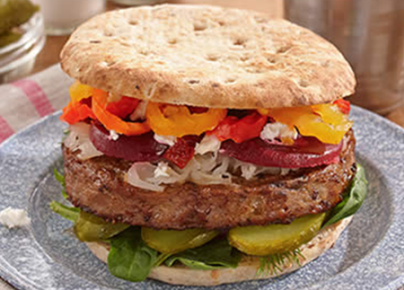 Recipe Image of Lost in the Mountains Burger
