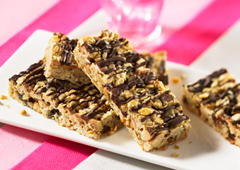Barres granola sucrées et salées