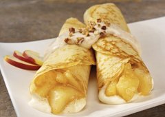Apple Cream Crêpes