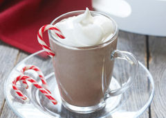 Chocolate Peppermint Swizzle