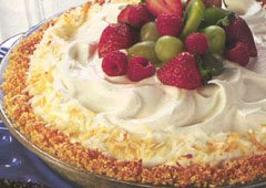Crackling Coconut Cream Pie