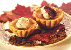 Heavenly Harvest Pumpkin Tarts