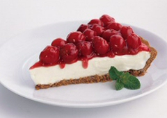 No-Bake Cherry Cheese Pie