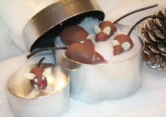 Merry Christmas Chocolate Mice