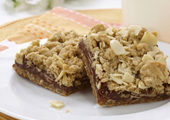 Butterscotch Chocolate Oatmeal Squares