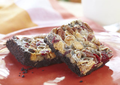 Chewy Chocolate Cranberry Bars