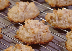 Coffee Almond Macaroons