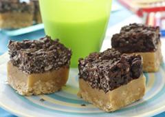 Toffee Crisp Squares