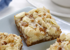 Heavenly White Chocolate Toffee Bars