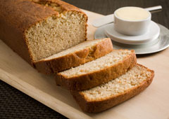 Maple Scented Banana Bread