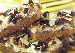 Multiple Choice Magic Cookie Bars