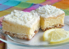 Tartly Frosted Lemon Squares