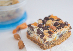Trail Mix Cookie Bars