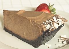Tarte truffée au chocolat
