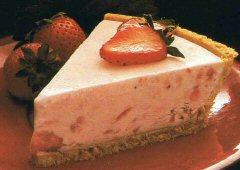 Tartes glacées onctueuses aux fraises