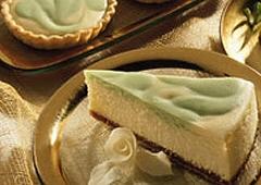 Gâteau au fromage et à la lime