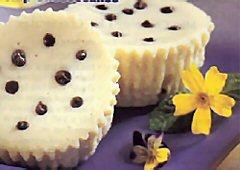 Mini-gâteaux au fromage aux milles grains de choco