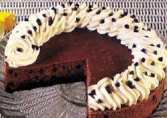 Gâteau au fromage Mocha aux grains de chocolat