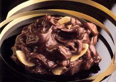 Croquant au chocolat et aux arachides