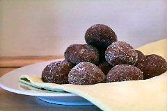 Clochettes scintillantes au chocolat