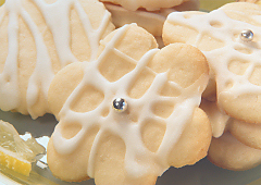 Biscuits sucrés au citron