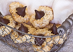 Macarons au surprise au chocolat