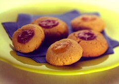 Biscuits au beurre d´arachide et à la confiture