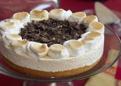 Gâteau à la crème glacée S'more
