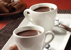 Petits pots de chocolat à la crème