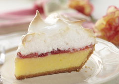 Strawberry Lemon Meringue Pie